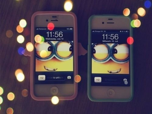 Inspiratie plaatjes we heart it this own style - Despicable me minion screensaver ...